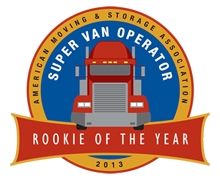 Congratulations to Chip Harber, 2013 Winner of the AMSA Super Van Operator Rookie of the Year!